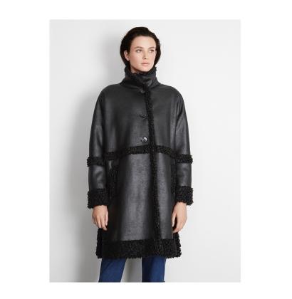 Adolfo Dominguez Faux Sheepskin Jacket