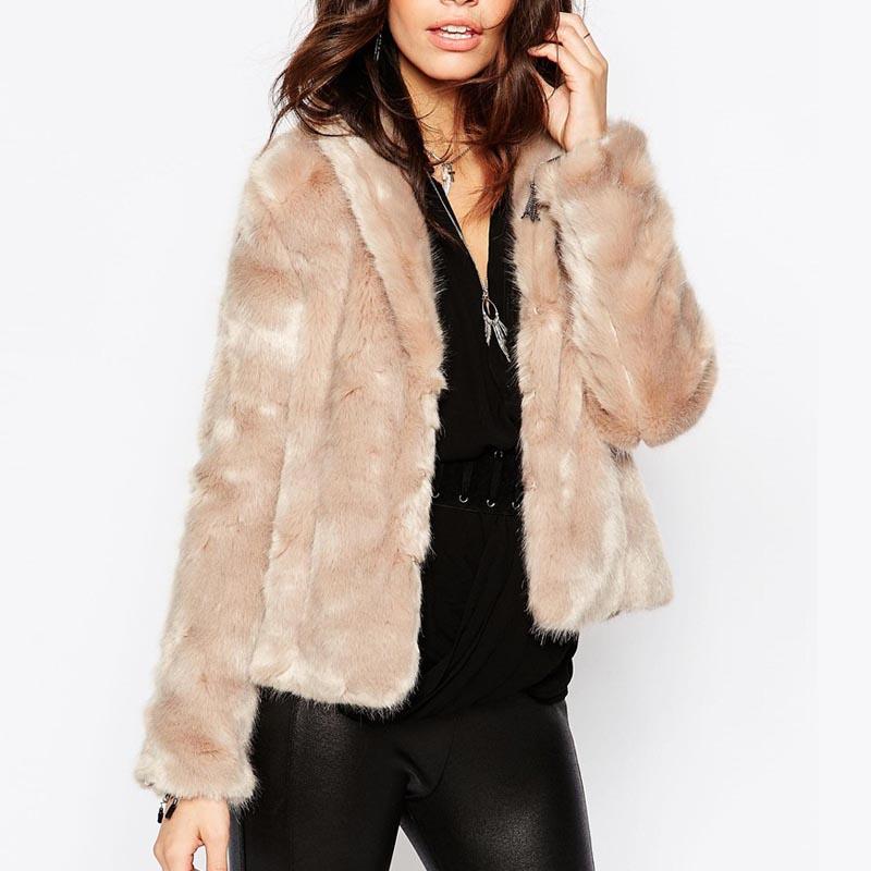 ASOS Faux Fur Jacket