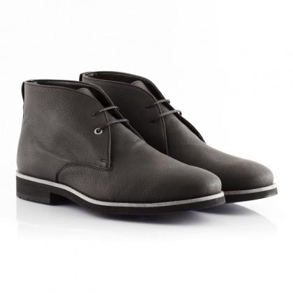 Vegan Black Mens Boots