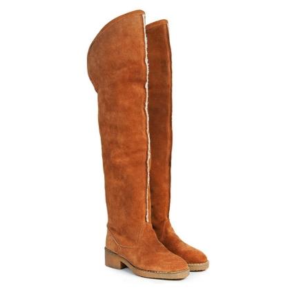 Beyond Skin Farah Faux Sheepskin Boots