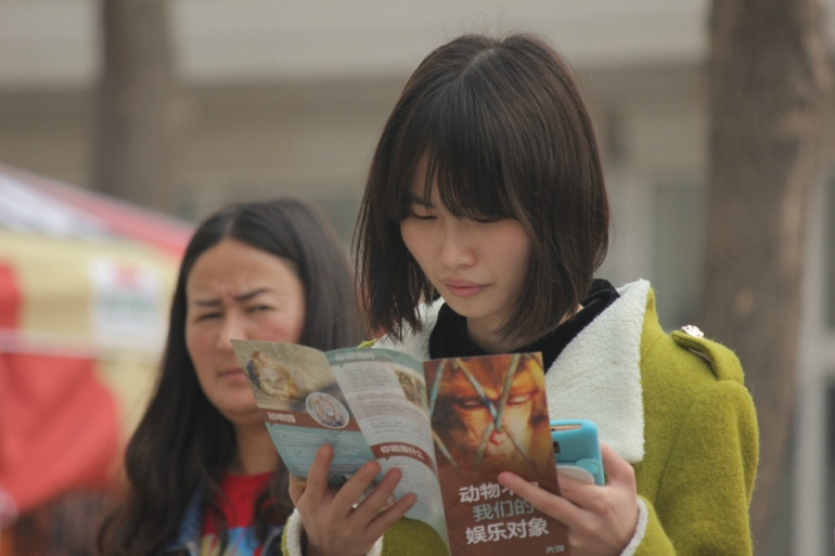 China activism
