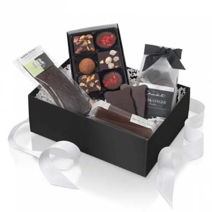 Hotel Chocolat Vegan Dark Chocolate Christmas Box