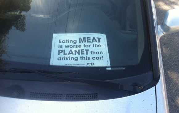 Meat car climate change