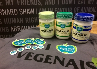 Follow Your Heart – Enter for a Chance to Win a Vegenaise Prize Pack
