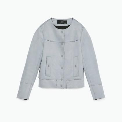 Zara Suedette Jacket