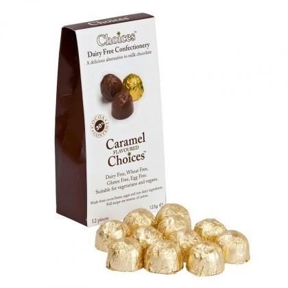 Vegan Caramel Choices Chocolates