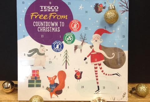 Vegan Christmas Tesco Advent Chocolate