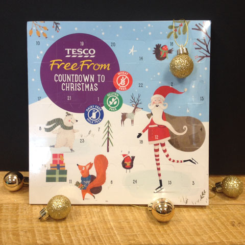 Vegan Christmas Tesco Advent Chocolate