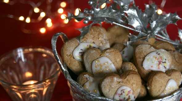 Vegan Christmas Iced Gingerbread Biscuits