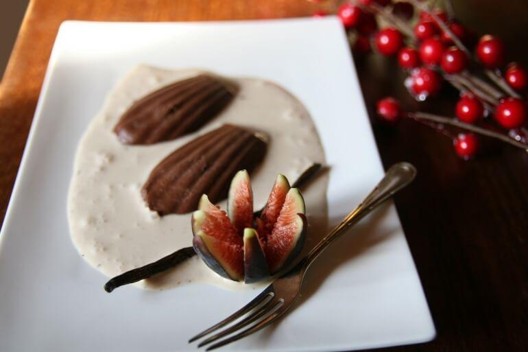 Vegan Christmas Fondant au Chocolat