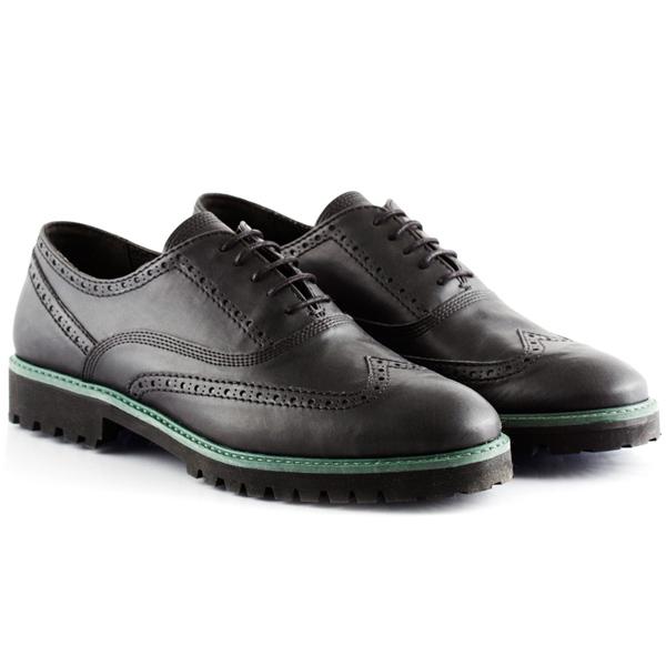 B Boheme Mens Black Shoes