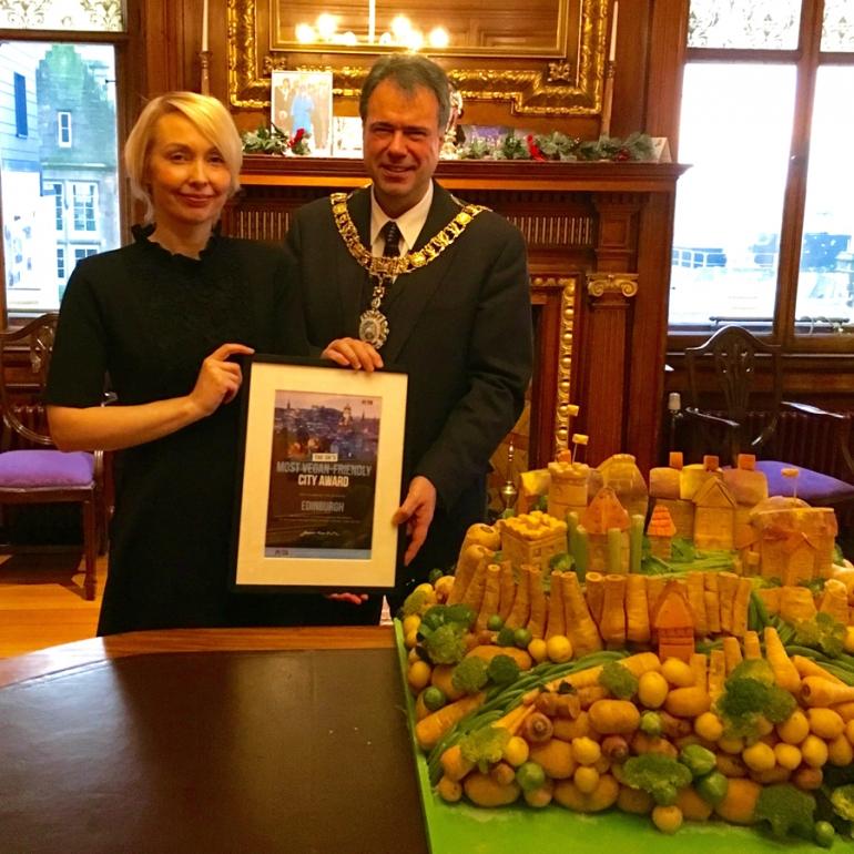 Edinburgh Vegan Award