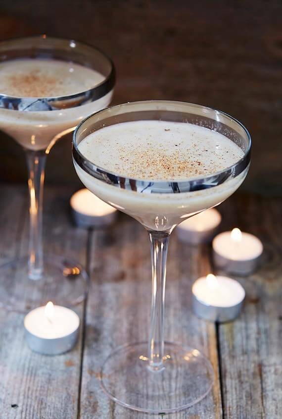 Vegan Christmas Eggnog Drink