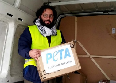 Donated Fur Coats to Help Freezing Refugees in Syria and Calais