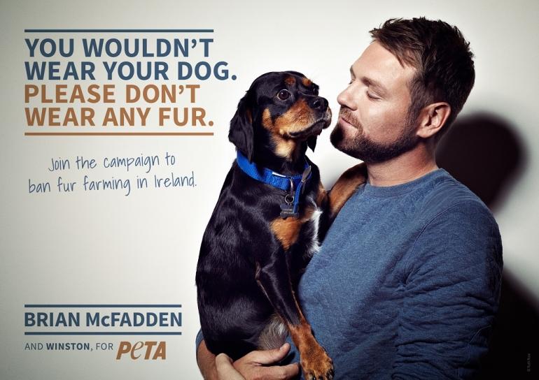 PETA Brian McFadden