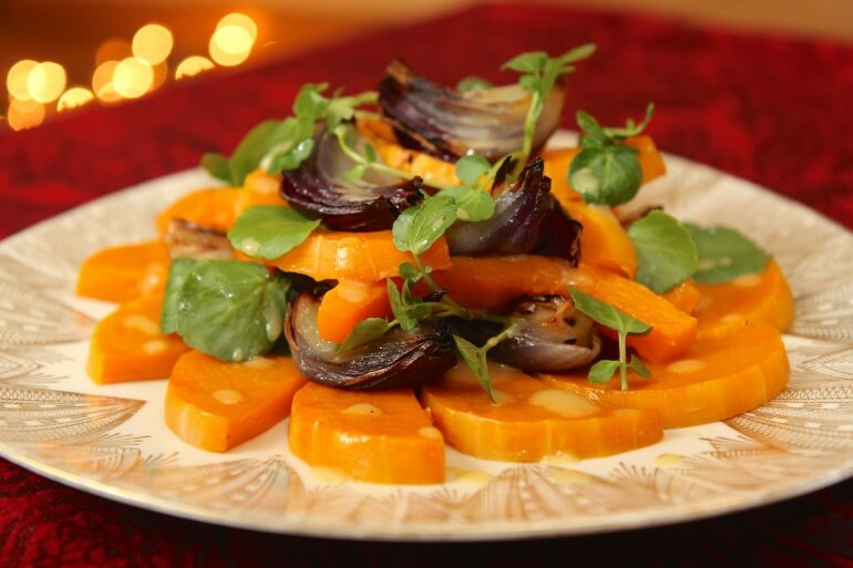 Butternut Squash Christmas Recipe