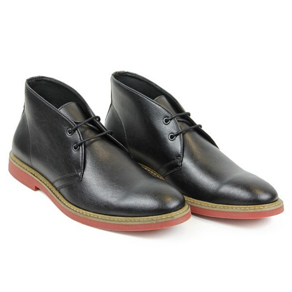 Wills Vegan Leather Desert Boots