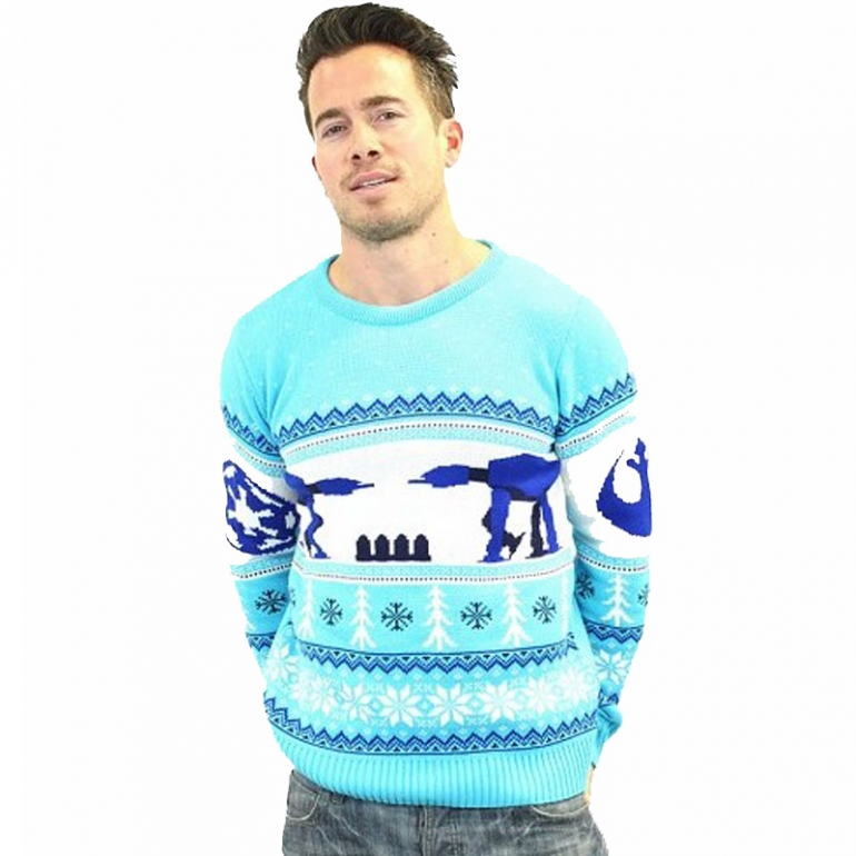 Star Wars Christmas Jumper Wool Free