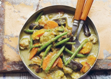 Recipe: Thai Green Curry From 'Vegan Street Food' by Jackie Kearney