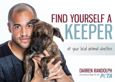 Footballer Darren Randolph and Cute Pup Tia Want You to Adopt!