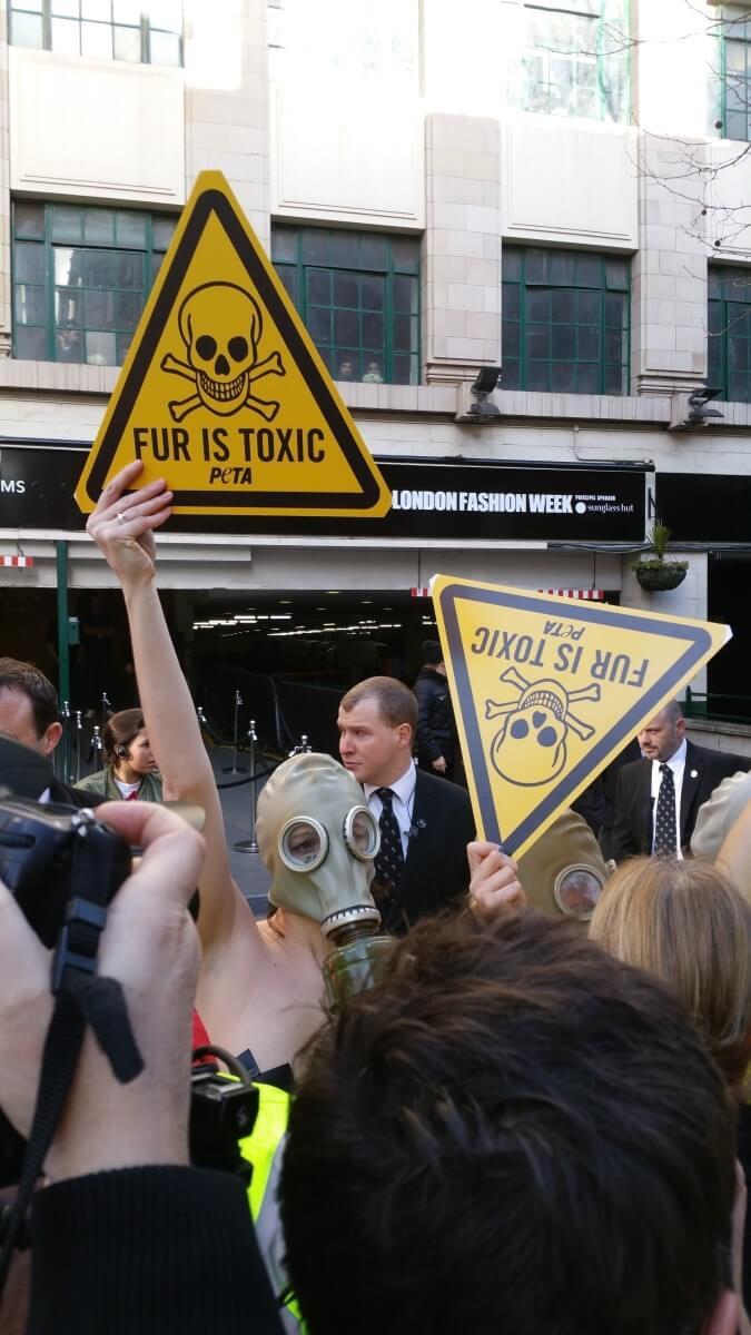 London Fashion Week 2016 Toxic Fur