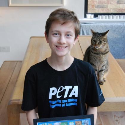 PETA Awards Teen Who Campaigned Against a Cruel School Trip