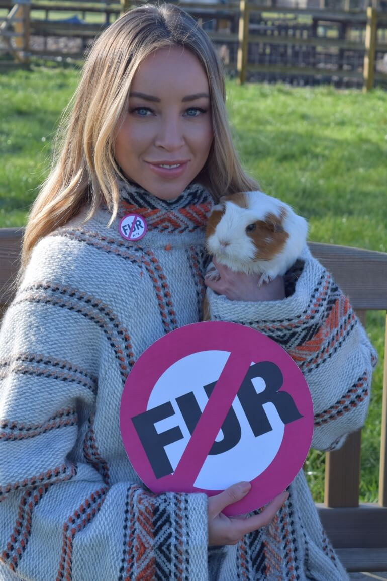 Lauren Pope Fur Donation Guinea Pig