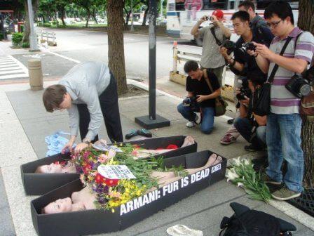 Armani Fur is Dead