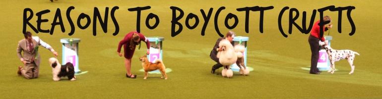 Boycott Crufts CC