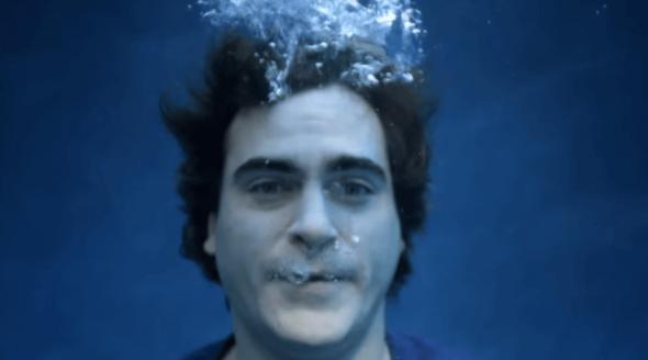 'Drowning' Joaquin Phoenix