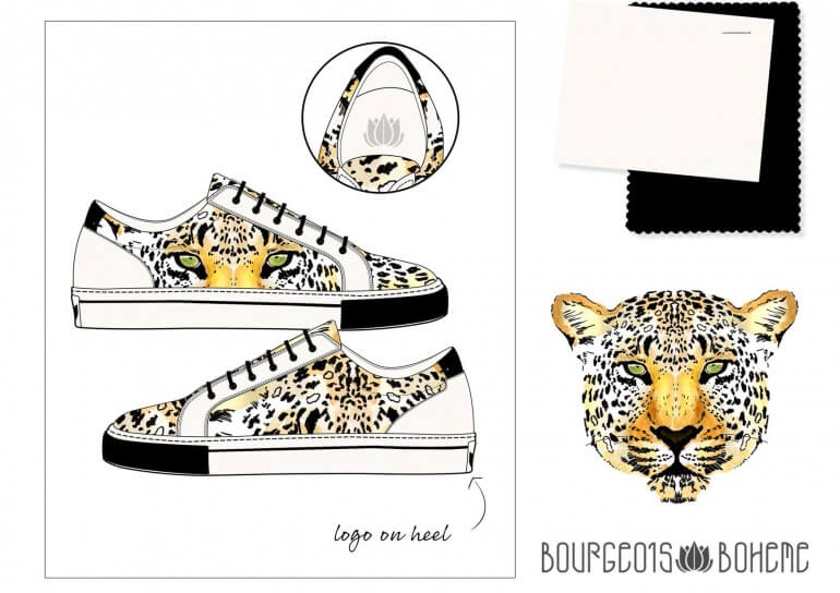 Laura Hickman Winning Design Bourgeois Boheme Competiton Vegan Shoes