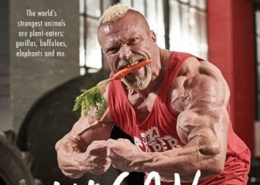 Vegan Power: Mr Universe Explains How Meat-Free Meals Helped Boost His Strength