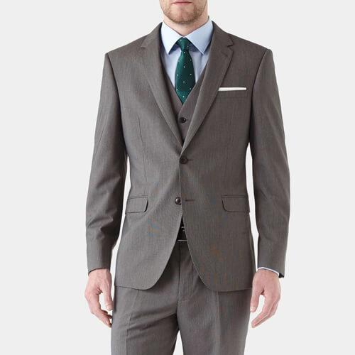 Burton Grey Vegan Suit
