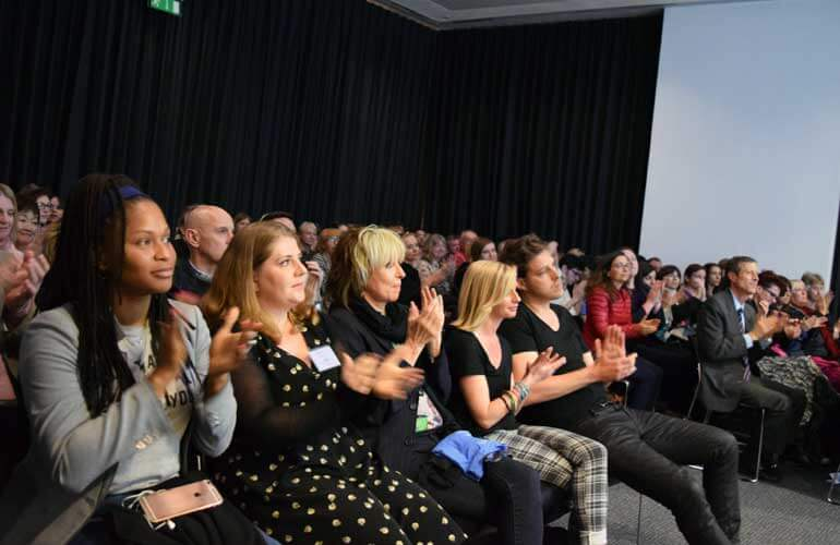Audience at Ingrid Newkirk's Unstoppable