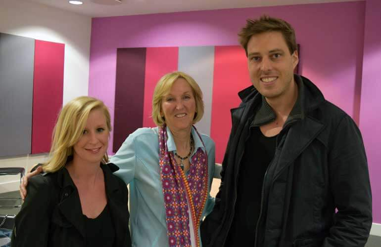 Ingrid Newkirk and Will Green from Wills London