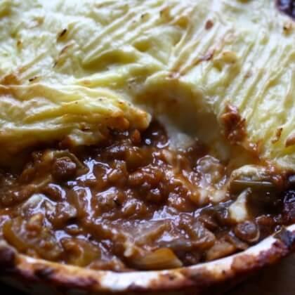 Shepherd's Pie British Vegan