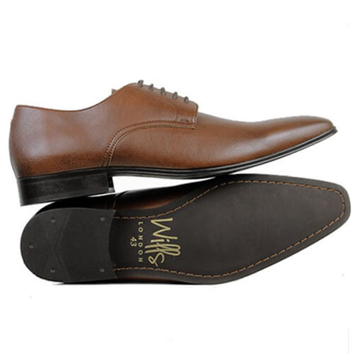 Wills Vegan Mens Leather Shoes