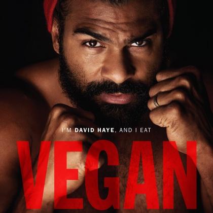 Heavyweight Boxing Champion David Haye Takes a Jab at Meat Industry