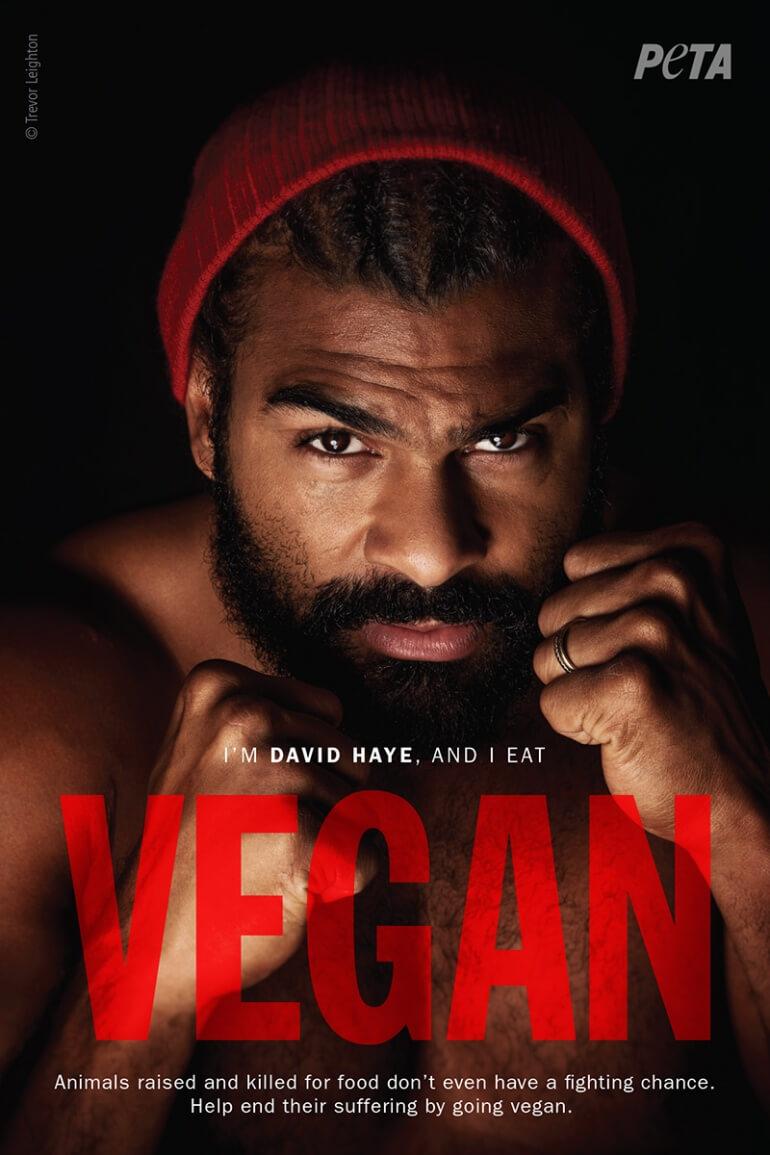DAvid Haye Vegan Ad