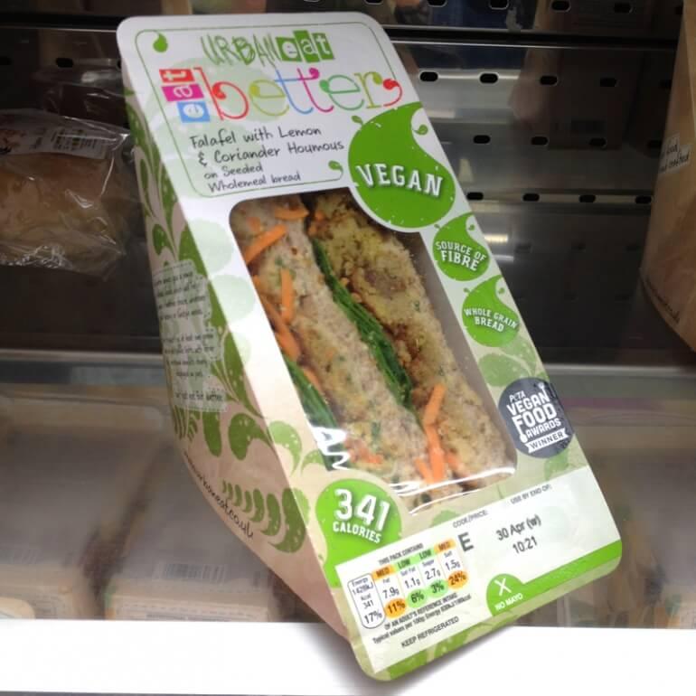URBANeat Falafel Vegan Sandwich