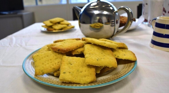Rosemary Shortbread British Vegan