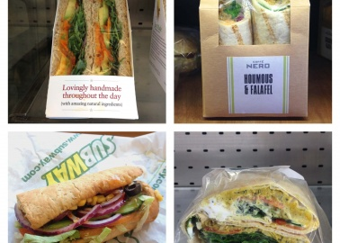 12 Delicious Vegan Sandwiches Available in the UK