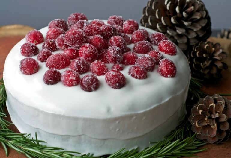 Christmas Fruit Cake Vegan Aquafaba