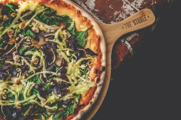 TheStable -Vegan Pizza