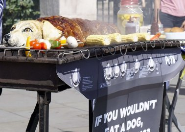 These Londoners Were Offered 'Dog Meat'. See How They Reacted.