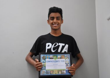 Teen Creates Innovative App That Helps People Choose Vegan Foods