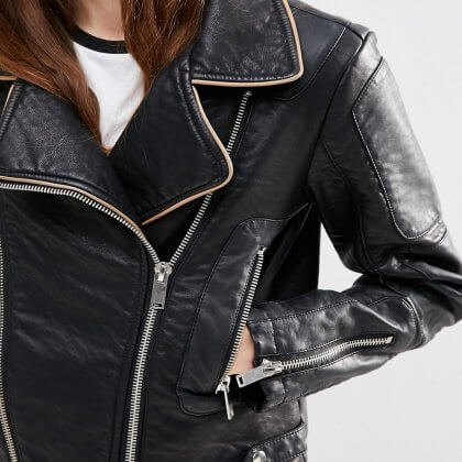 15 Cool AF Vegan Leather Jackets You Need in Your Wardrobe This Autumn