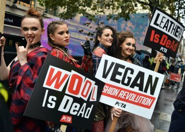 Photos: Vegan Fashion Revolution Hits London Fashion Week