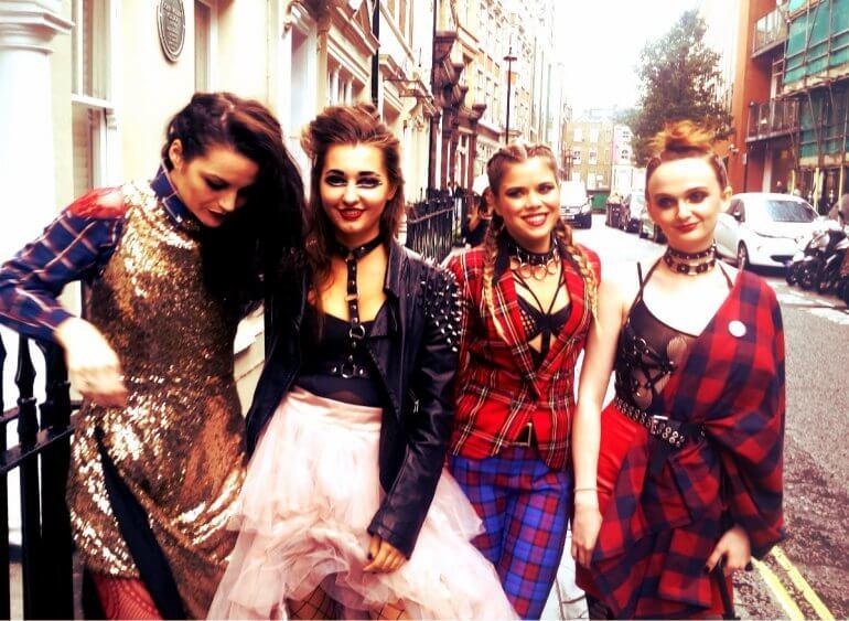 London Fashion Week Vegan Protest