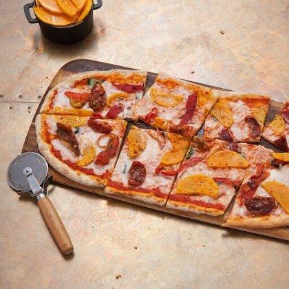 Zizzi vegan pizza.